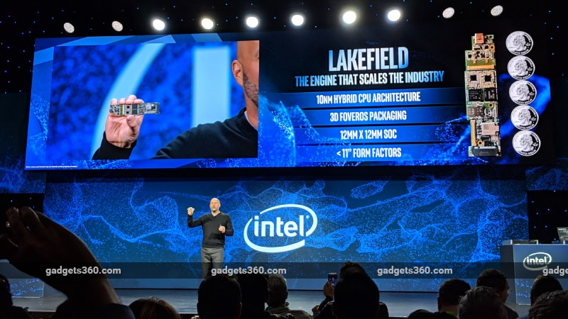 intel lakefield ces2019 ndtv Lakefield