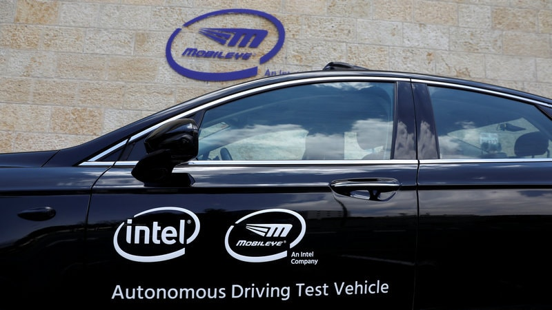 Intel's Mobileye Gets Self-Driving Tech Deal for 8 Million Cars
