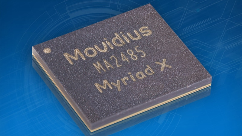 Intel Unveils Movidius Myriad X VPU With Neural Compute Engine to Give Devices AI Capabilities