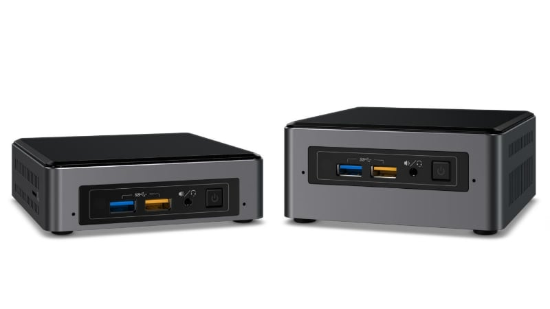 CES 2017: Intel Launches 5 NUC Mini PCs Sporting Fresh Kaby Lake Chips