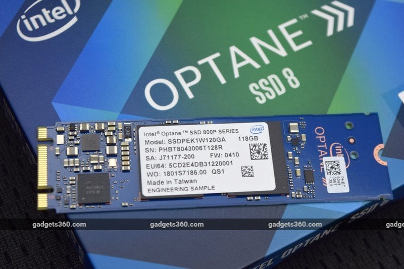 Intel Optane SSD 800p Review
