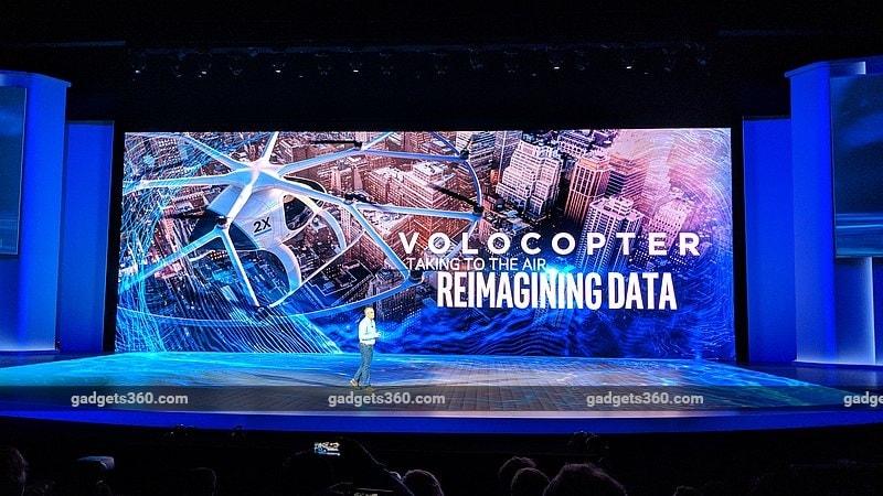 intel volocopter gadgets 360 Intel