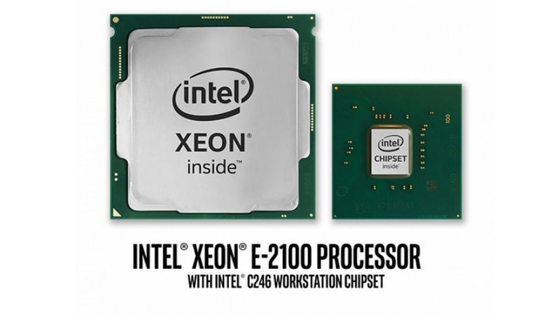 Intel Xeon E-2100 Processor for Entry-Level Workstations Unveiled