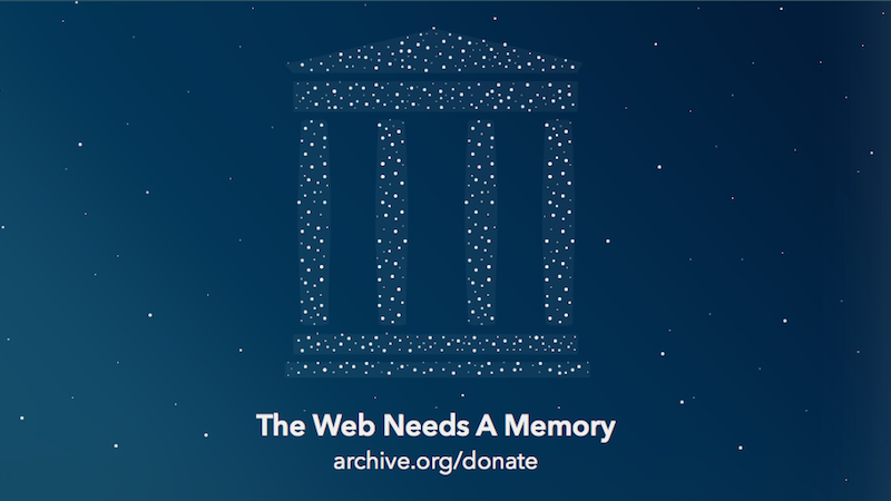 Internet Archive Wants to Backup Its Data in Canada Fearing Donald Trump's Administration