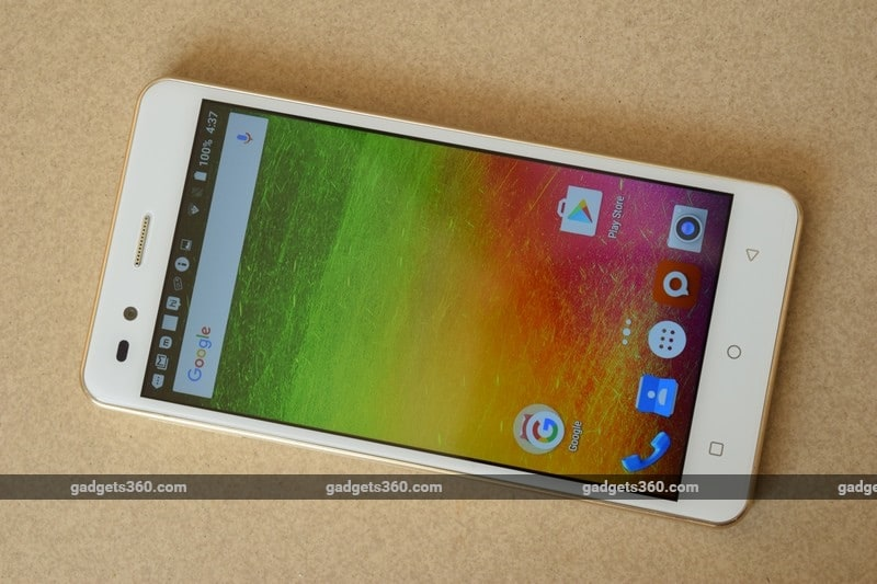 Intex Aqua Crystal Review