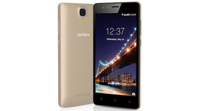 Intex Aqua Lions 2 With Android Nougat Launched In India At ₹4599