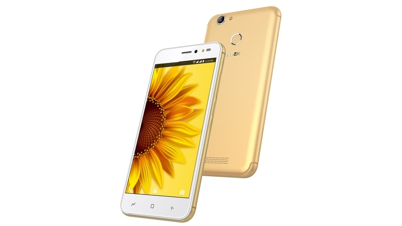 Intex Uday With Selfie Flash, 13-Megapixel Camera Launched in India: Price, Specifications