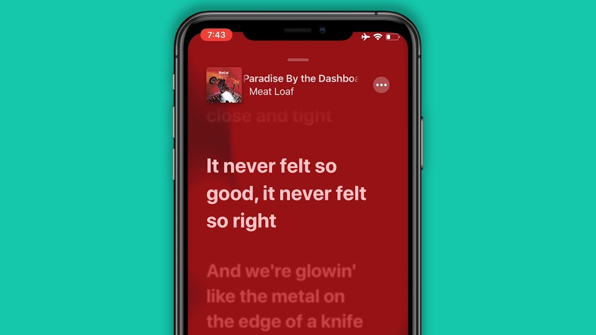 Ios 13 Brings Real Time Lyrics Feature To Apple Music For