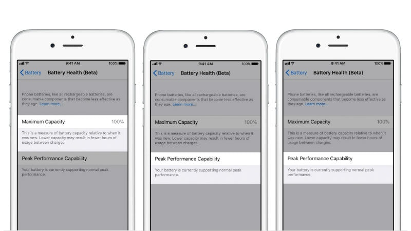 iOS 11.3 Beta 2 Provides a Glimpse of How Battery Health Features Will Work