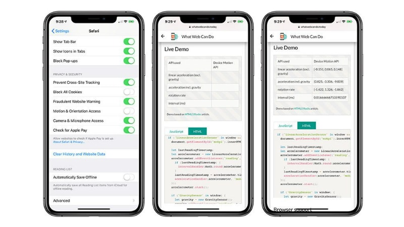 ios 12 2 motion and orientation access option macrumors iOS 12.2  iOS
