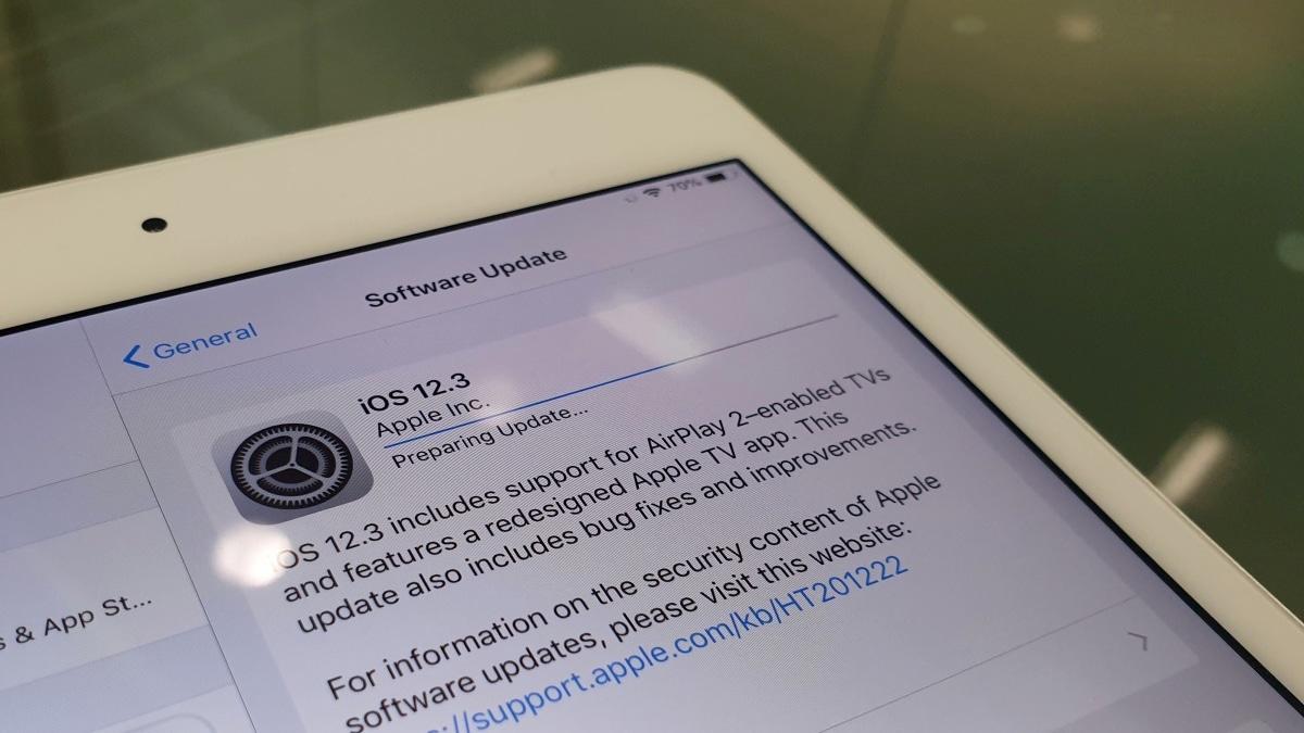 iOS 12 3, tvOS 12 3, watchOS 5 2 1, and macOS 10 14 5