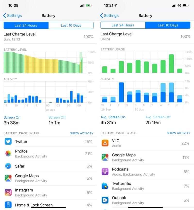 ios 12 battery iOS 12