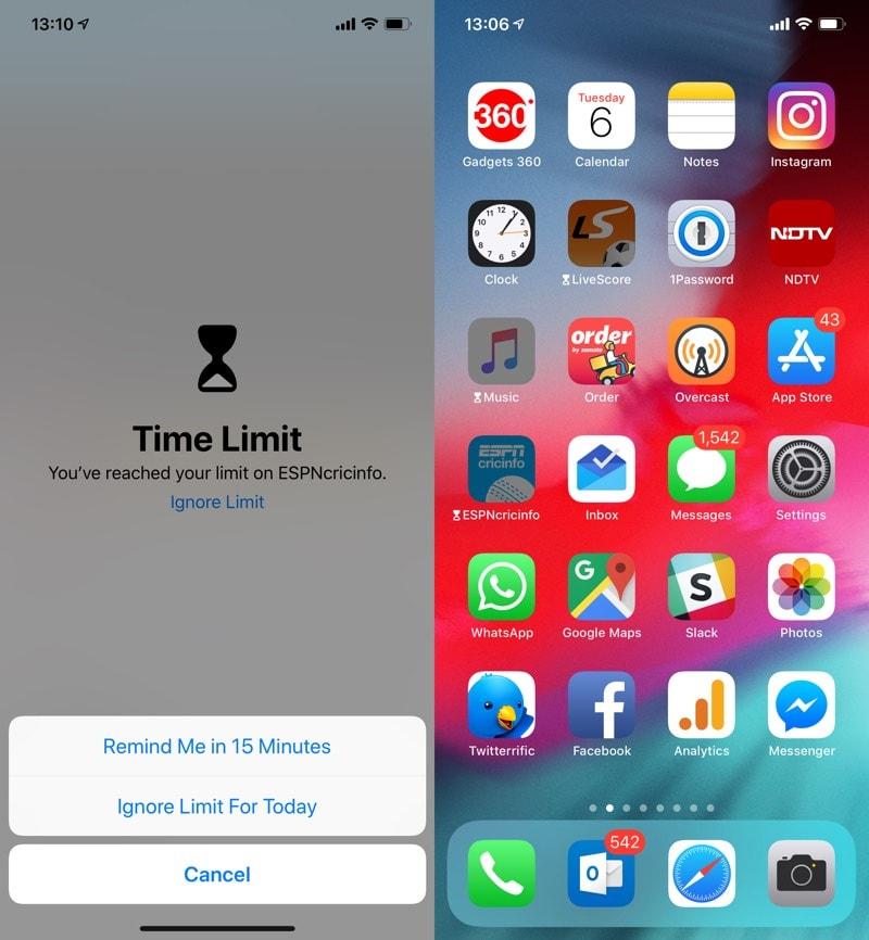 ios 12 time iOS 12