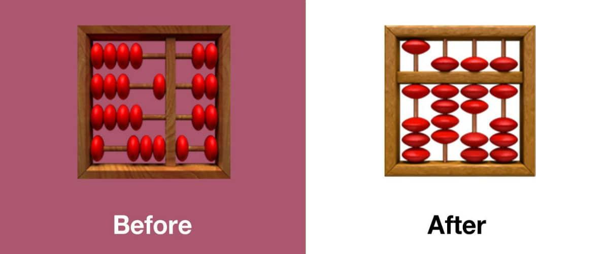 ios 13 1 abacus emoji emojipedia iOS 13.1  Apple