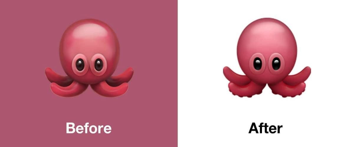 ios 13 1 octopus emoji emojipedia iOS 13.1  Apple
