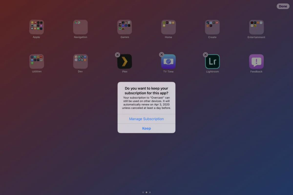 iOS 13 Beta 2 Tips Apple Will Prompt You About an Active Subscription When Uninstalling an App