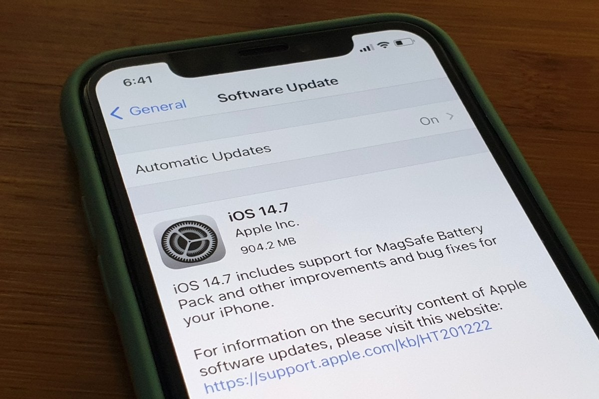 iOS 14.7 Released With MagSafe Battery Pack Support, Apple Brings watchOS 7.6 and tvOS 14.7 as Well