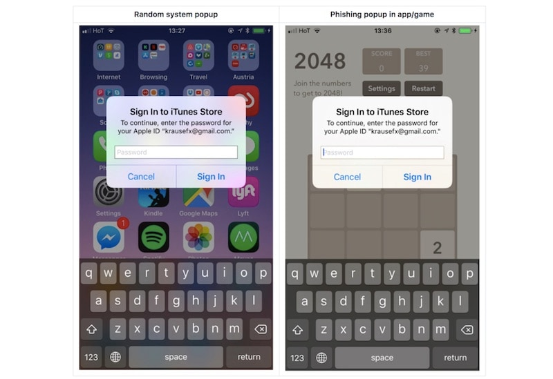 ios password dialog box iOS  Security  Mobiles  Apple
