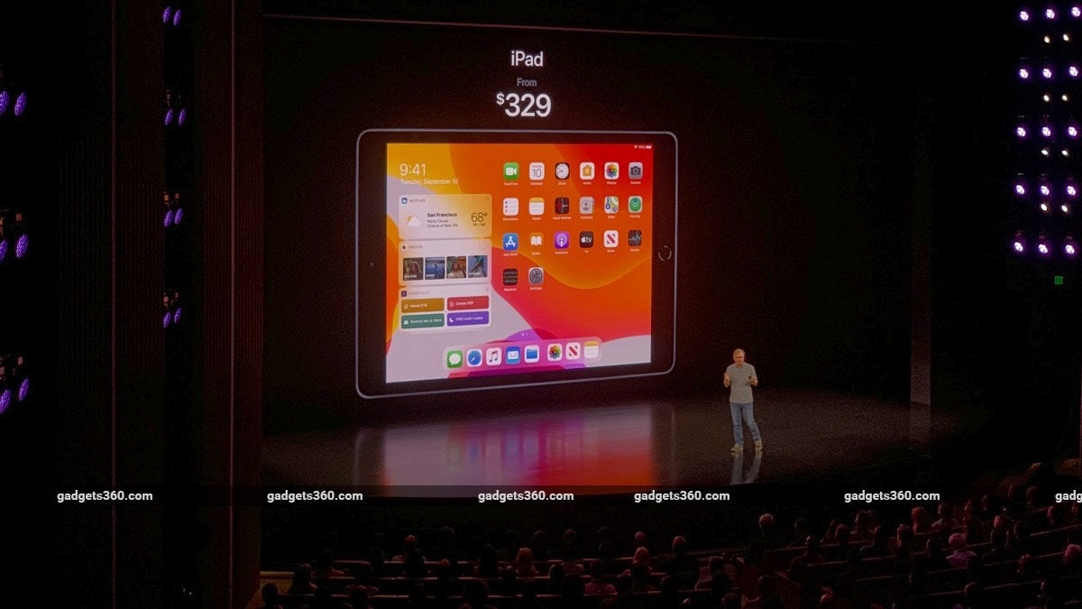 Ipad 2019 Unveiled At Iphone 11 Launch Event Price In