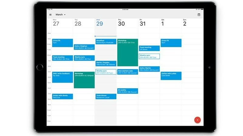 Google Calendar App Now Available for iPad Users