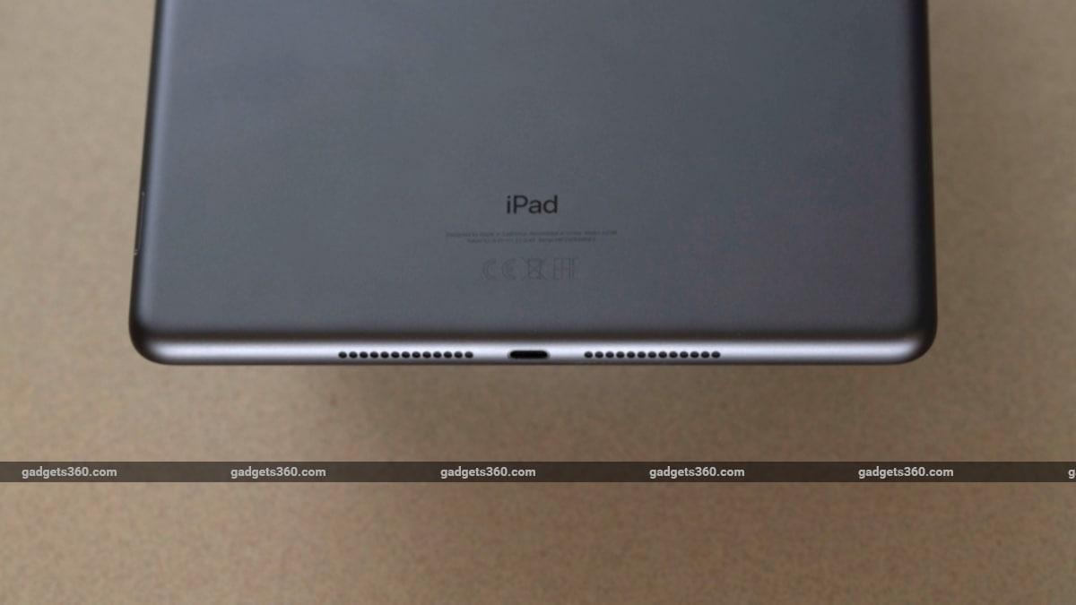 ipad 2019 lightning port speaker iPad (2019)
