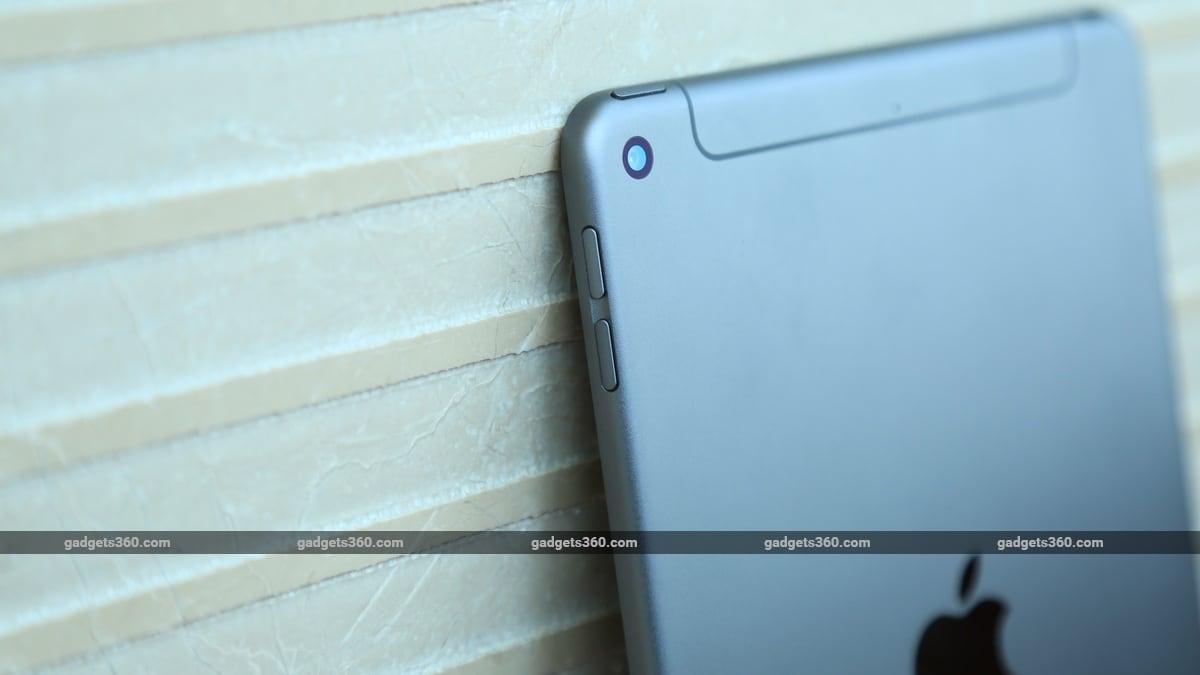 ipad mini 2019 camera iPad mini