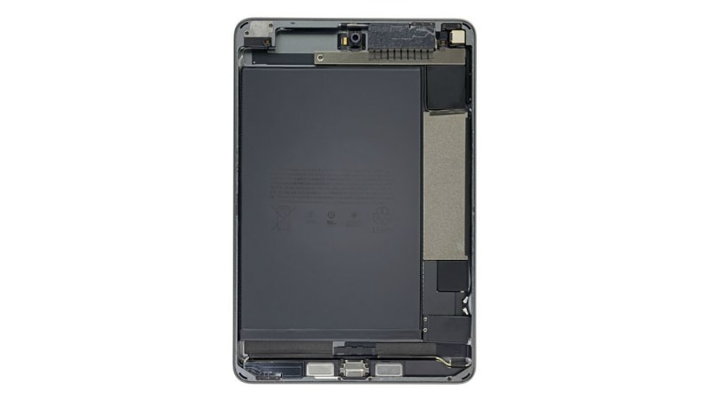 ipad mini 2019 teardown battery size ifixit iPad mini 2019  iPad mini 5