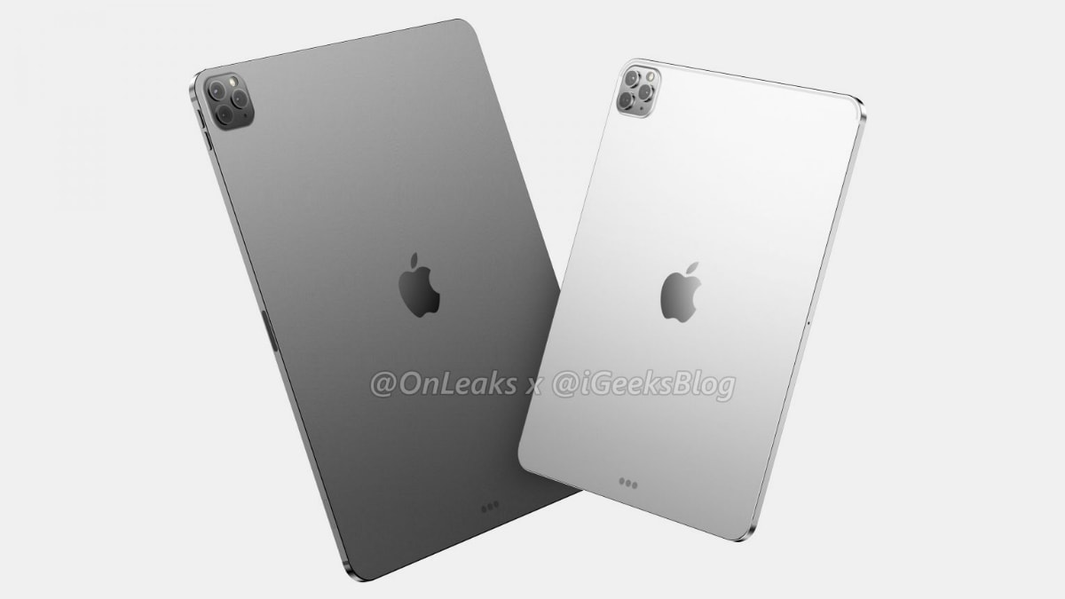 First renders of Apple's 2020 iPad Pros show triple cameras