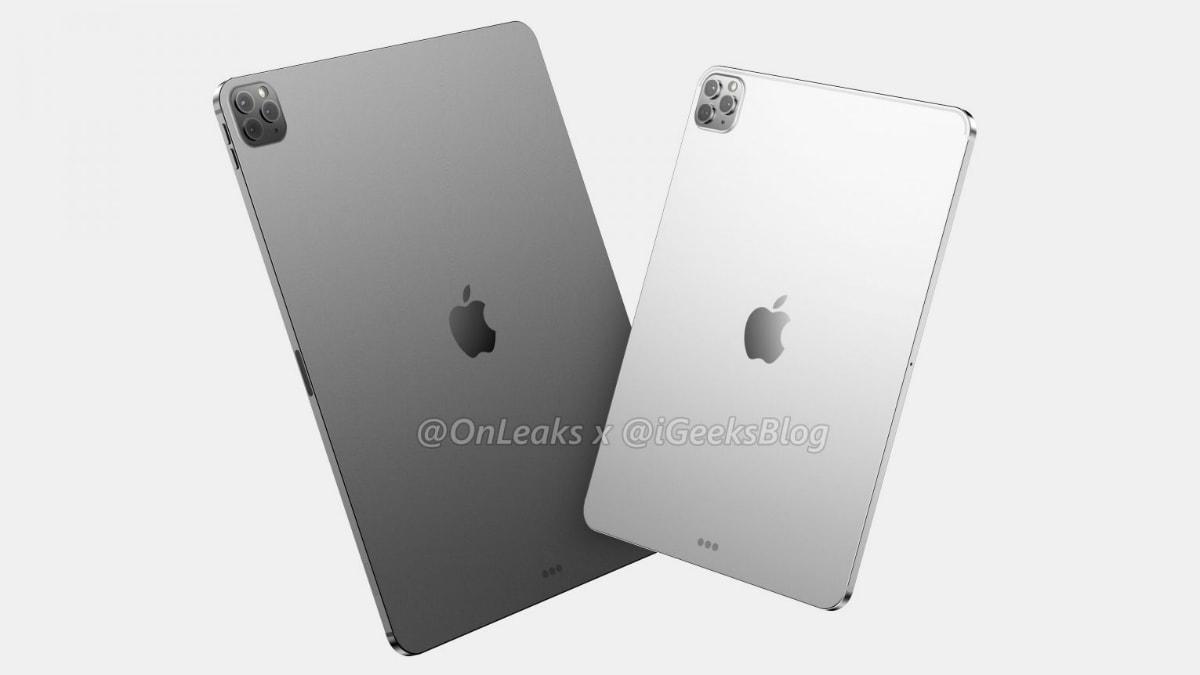 2020 iPad Pro Purported Renders Suggest iPhone 11 Pro-Like Triple Rear Cameras