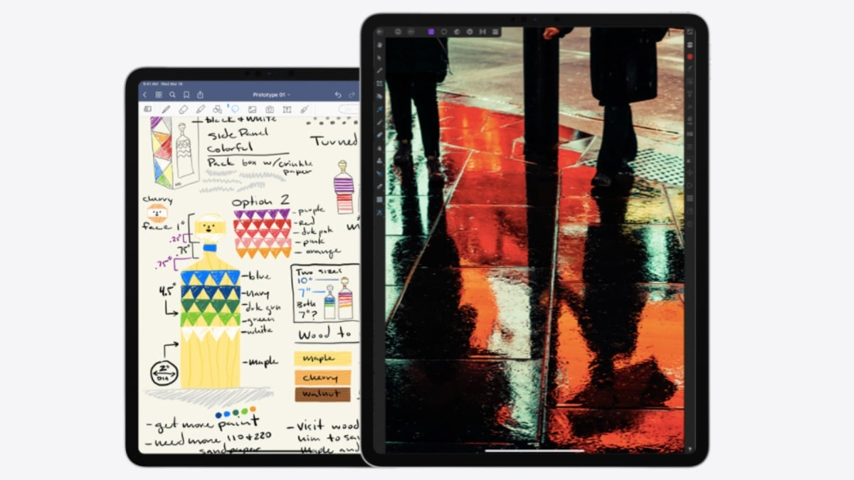 Apple Rumoured to Launch New iPad Pro Models in First Half of 2021 With 5G Support, Mini-LED Displays