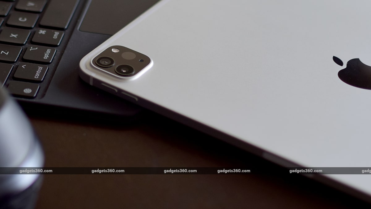 ipad pro 2021 11 inch M1 cameras gadgets 360 ww