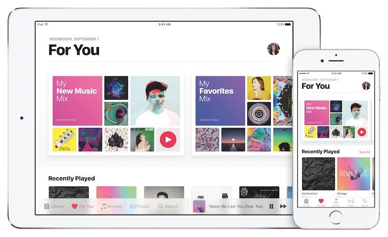 ipad pro apple music pr Apple Music