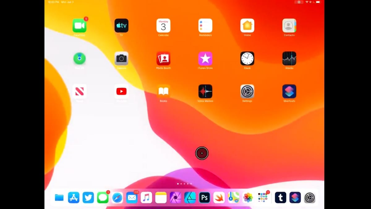 08837ba0825 iOS 13, iPadOS Spotted With USB and Bluetooth Mouse Support, Available as  Assistive Touch