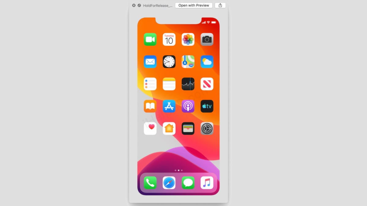 iPhone 11 Launch Date Is September 10, iOS 13 Internal System Images Tip
