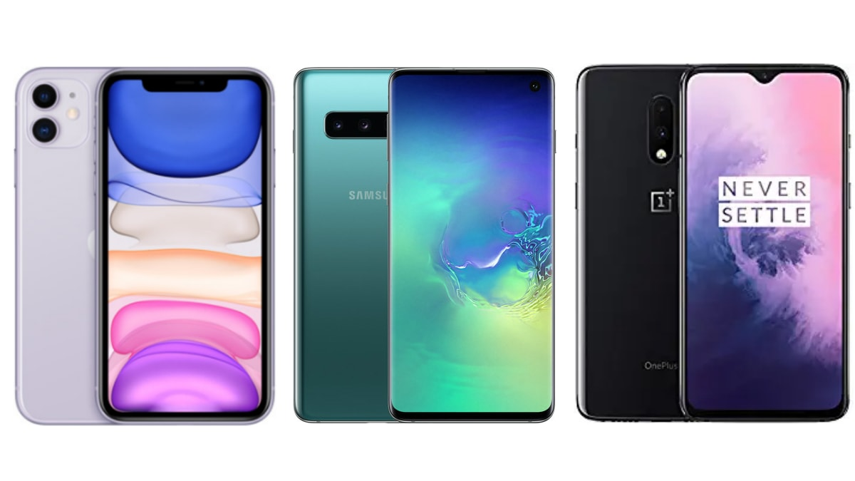 iPhone 11 vs Samsung Galaxy S10 vs OnePlus 7: Price in India, Specifications Compared