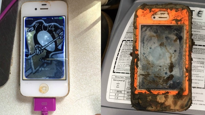iPhone 4 Reportedly Survives Even After Spending a Year at the Bottom of a Lake