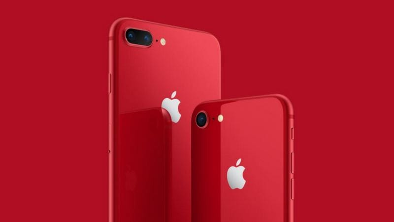 iPhone 8, iPhone 8 Plus (PRODUCT) RED Editions Now Available in India