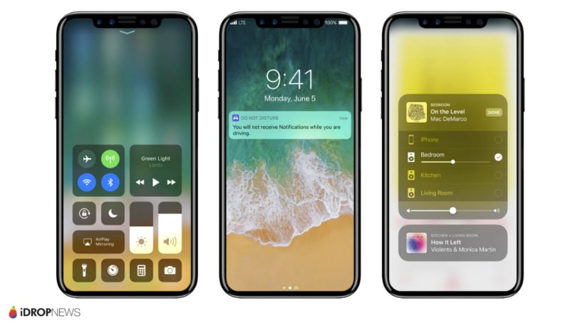 iPhone 8 Bezel-Less Display, Facial Recognition Features Spotted in HomePod Firmware