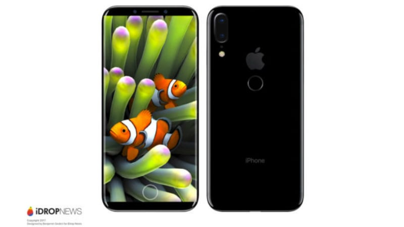 iPhone 8 Leak Tips Design Similar to Samsung Galaxy S8, Rear Fingerprint Sensor