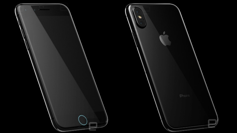 iPhone 8 Render Leak Tips No Bezel-Less Display, Embedded Home Button, Dual Selfie Cameras