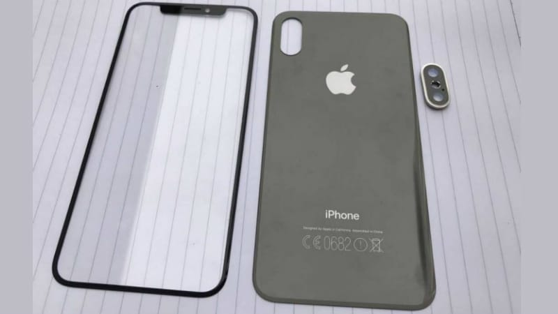 Newly leaked iPhone 8 parts give glimpse into rumored design