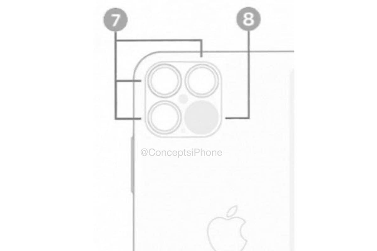 iphone 12 pro max back lidar sensor image instagram conceptsiphone iPhone 12 Pro Max