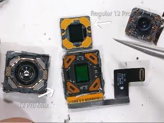 iPhone 12 Pro Max Teardown Reveals How Sensor Shift Stabilisation Works