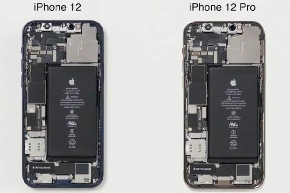 iPhone 12, iPhone 12 Pro Teardown Shows Both Are Nearly Identical on the Inside