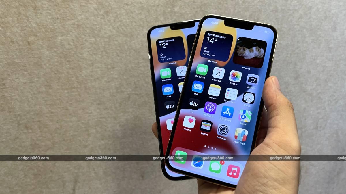 iphone 13 pro display ndtv iphone