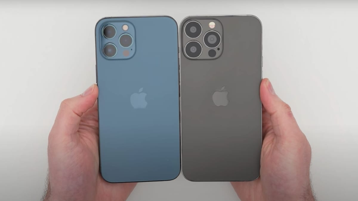 iPhone 13 Pro Max Hands-on Video Suggests Key Design-Level Changes