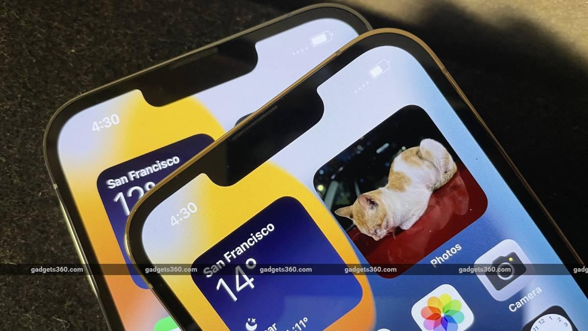 iphone 13 pro notches ndtv iphone
