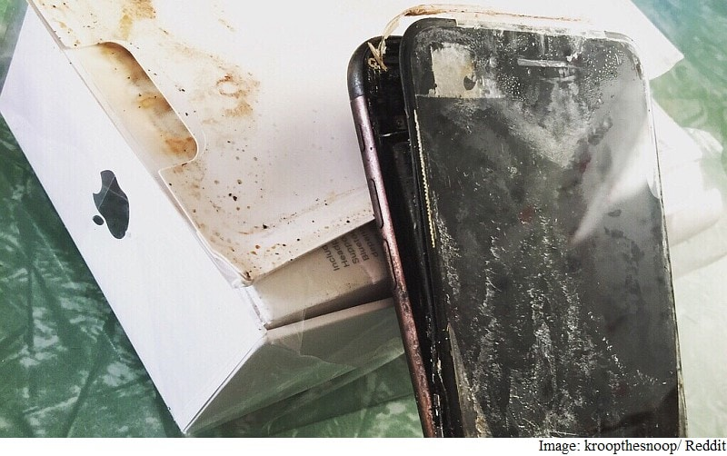iPhone 7 Plus Allegedly Explodes in Transit; Inevitable Samsung Galaxy Note 7 Comparisons Begin