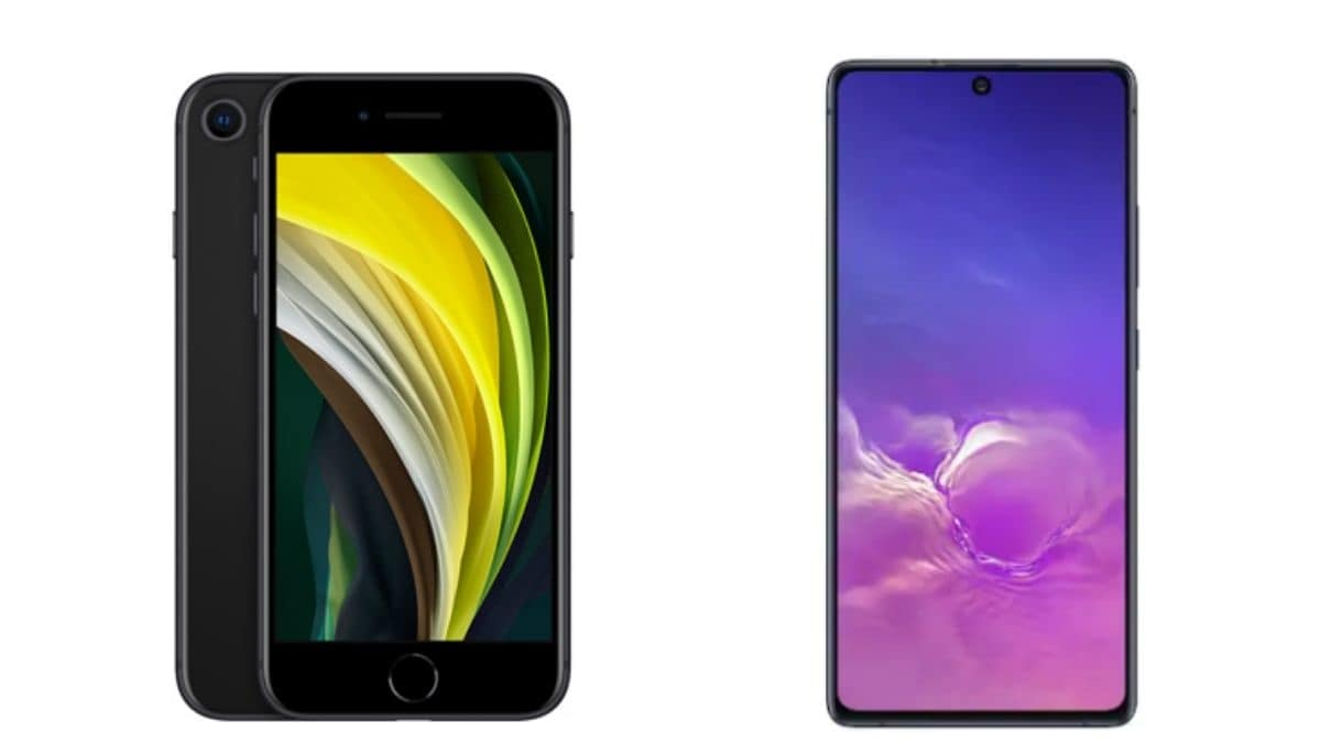 iPhone SE (2020) vs Samsung Galaxy S10 Lite: Price in India, Specifications Compared