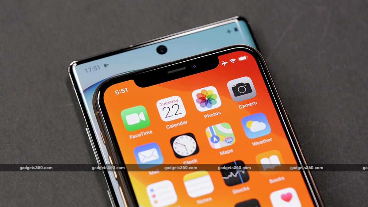 iphone vs note 10 selfie camera